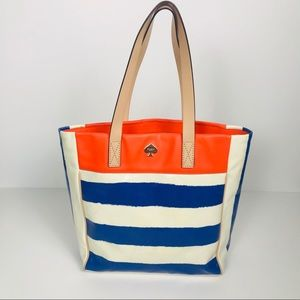 Kate Spade Coated Canvas Tote Bag